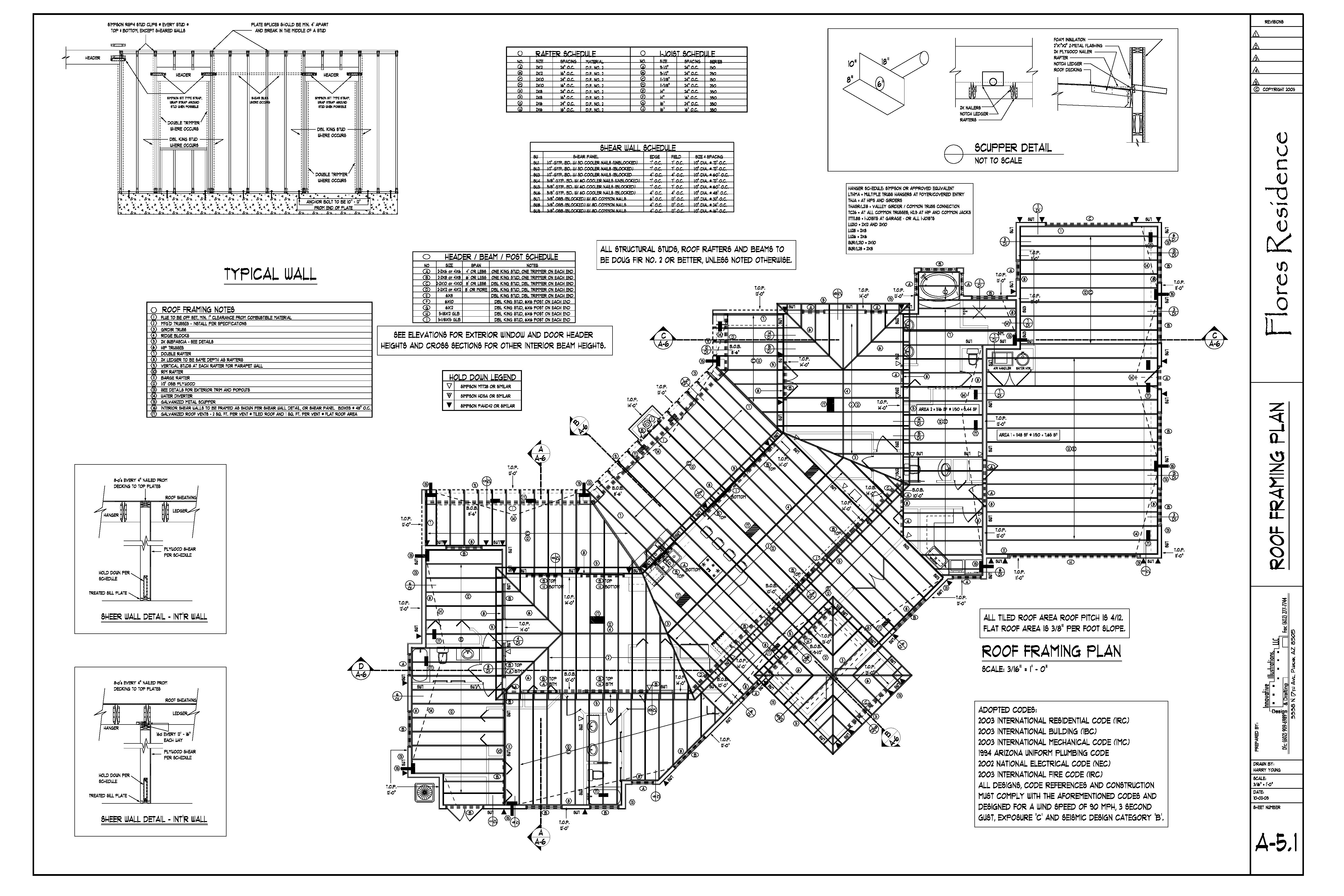 Drawings | Harry Young Design & Drafting